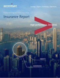 Accenture 2014 High Performance Finance Study Insurance Report