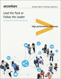 Lead the Pack or Follow the Leader: Insuring Risk in the Sharing Economy (Cover)