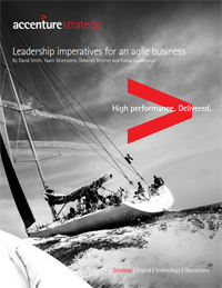 Leadership imperatives for an agile business