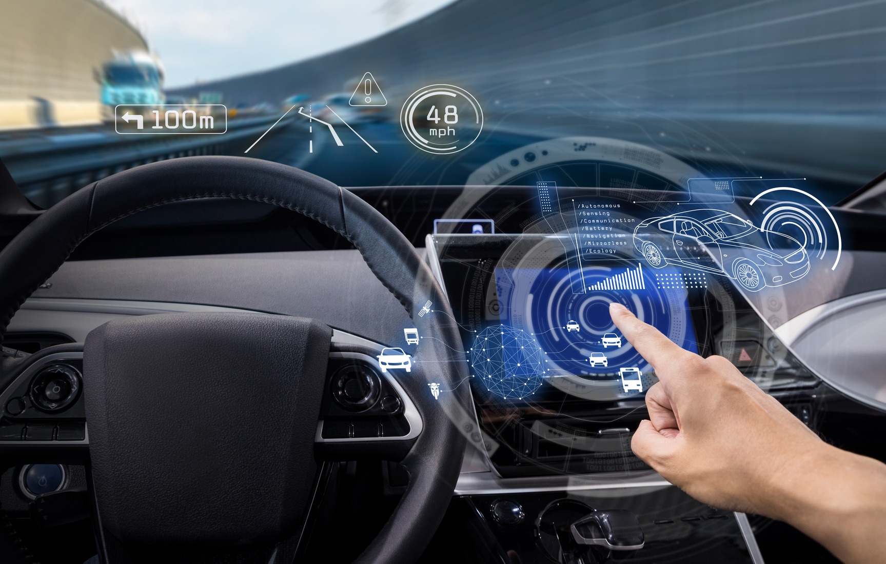 Addressing big data in driverless cars - Accenture